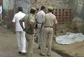 The village in Rohtak, Haryana, where a young couple was killed on Wednesday